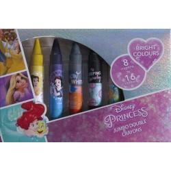 Jiri Models kétoldalas zsírkréták - Disney hercegnőkkel
