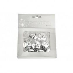 Száncsengő készlet - 8 db - ezüst