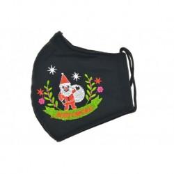 Szájmaszk vastagabb textilből - Santa