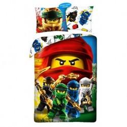 Halantex pamut ágyneműhuzat - Lego Ninjago - 140 x 200