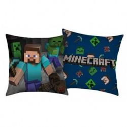 Halantex Minecraft Steve párna - 40 x 40 - poliészter