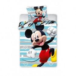 Faro gyerek pamut ágyneműhuzat - Mickey Happy - 100 x 135