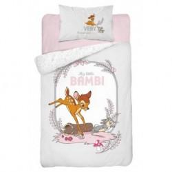 Detexpol gyerek pamut ágyneműhuzat - Little Bambi Grey - 100 x 135