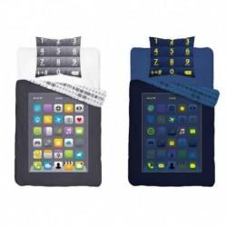 Detexpol világító pamut ágyneműhuzat - Telefon - 140 x 200