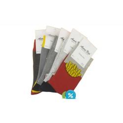 Auravia férfi klasszikus zokni FC6582 - 5 pár