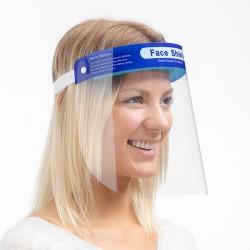 Átlátszó arcvédő
