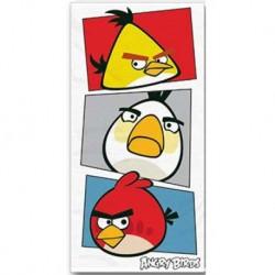 Törölköző - Angry Birds - fehér - 140 x 70 cm - Halantex