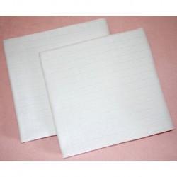 Prem pamut tetra törölköző - fehér - 100 x 90 cm