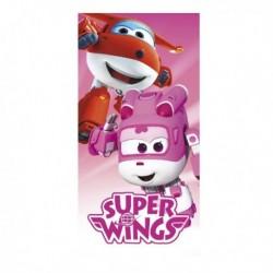 Cerda törölköző - Super Wings - rózsaszín - 140 x 70 cm
