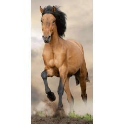 Jerry Fabrics törölköző - Barna ló - 140 x 70 cm