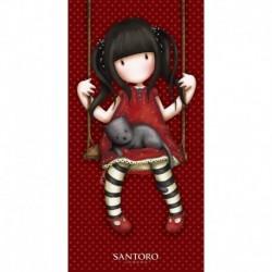 Halantex  törölköző - Santoro London - Gorjuss - Ruby - 140 x 70 cm