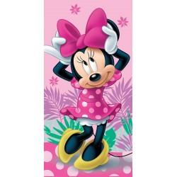 Jerry Fabrics törölköző - Minnie 02 - rózsaszín - 140 x 70 cm