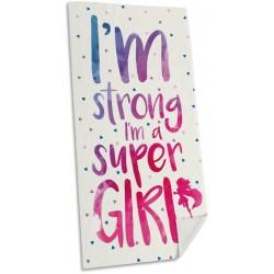 Euroswan törölköző - Super Girl - 150 x 75 cm