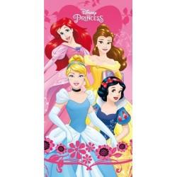 Jerry Fabrics törölköző - Disney hercegnők - 140 x 70 cm