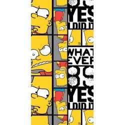 Jerry Fabrics törölköző - Bart Simpson 89 - 140 x 70 cm