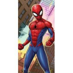 Faro törölköző - Spiderman a városban - 140 x 70 cm