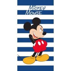 Faro törölköző - Mickey Mouse - csíkos - 140 x 70 cm
