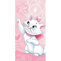 Jerry Fabrics törölköző - Marie cica - rózsaszín - 140 x 70 cm