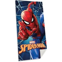 Euroswan törölköző - Spiderman - kék - 140 x 70 cm