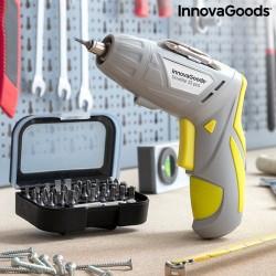 InnovaGoods Drivelite elektromos vezeték nélküli csavarhúzó tartozékokkal