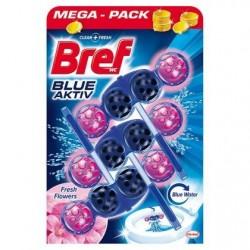 Bref Power Aktiv WC illatosító golyók – Friss virágok - 3 db
