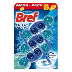 Bref Power Aktiv WC illatosító golyók – Eukalipsz - 3 db