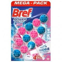 Bref Power Aktiv WC illatosító golyók – Rózsák - 3 db