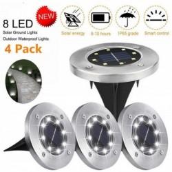 Napelemes kerti LED lámpák - 4 db