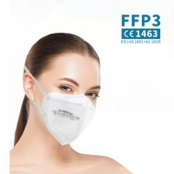 WOOW FFP3 NR légzésvédő - 1 db - fehér