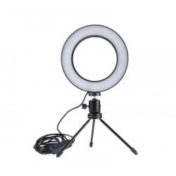 LED gyűrűs lámpa youtuberek és bloggerek számára