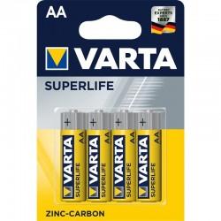 Varta Superlife R6 szén-cink elem  - 4x AA - bliszter