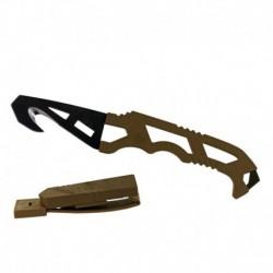 Gerber Crisis Hook Knife TAN499 mentőkés