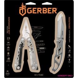 Gerber Suspension-NXT fogó +  Paraframe I. kés szett - bliszter