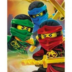 Halantex gyerek polár pléd - Lego Ninjago - 150 x 100 cm