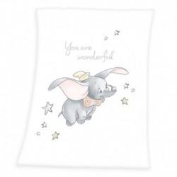 Herding gyerek polár pléd - Dumbo - 100 x 75 cm