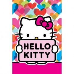 Detexpol gyerek törölköző - Hello Kitty - 60 x 40 cm