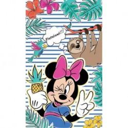 Detexpol gyerek törölköző - Minnie és a lajhár - 50 x 30 cm