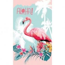 Detexpol törölköző - flamingó - 50 x 30 cm