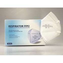 NR Zhishan 10217 FFP2 légzésvédő - 1 db - fehér