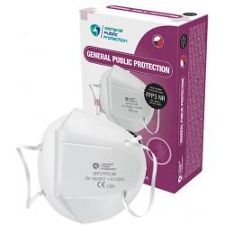 General Public Protection GPP3 FFP3 NR (CE) cseh légzésvédő - 1 db - fehér