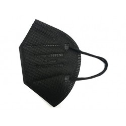 XIER FFP2 NR légzésvédő - 5 db - fekete