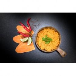 Dehidratált étel - Édesburgonyás curry - Vegán - Tactical Foodpack