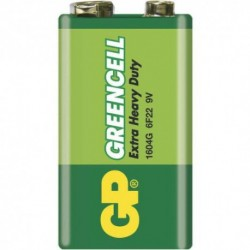 GP 6F22 Greencell akkumulátor - 9 V- 1 db