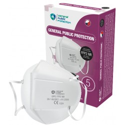 General Public Protection cseh légzésvédő GPP2 FFP2 NR (CE) - 1 db - fehér