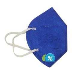 MEIYI FFP2 NR légzésvédő - MY-002 - 1 db - kék