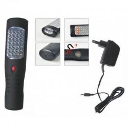 HS-2035 tölthető AKU LED szerelőlámpa horoggal és mágnessel