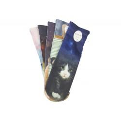 Auravia NP156  női zokni teljes felületű nyomtatással, állatos mintával - 5 pár