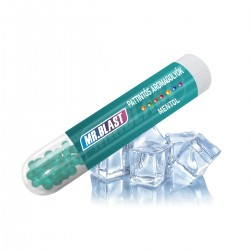 Mr. Blast pattintható aromagolyók - Mentol - 100 db