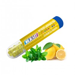 Mr. Blast pattintós aromagolyók - Citrom és menta - 100 db