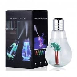 Izzó alakú LED párásító